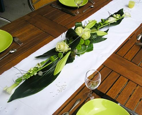 table mariées